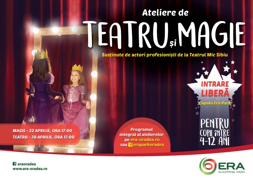 Program Ateliere teatru si magie