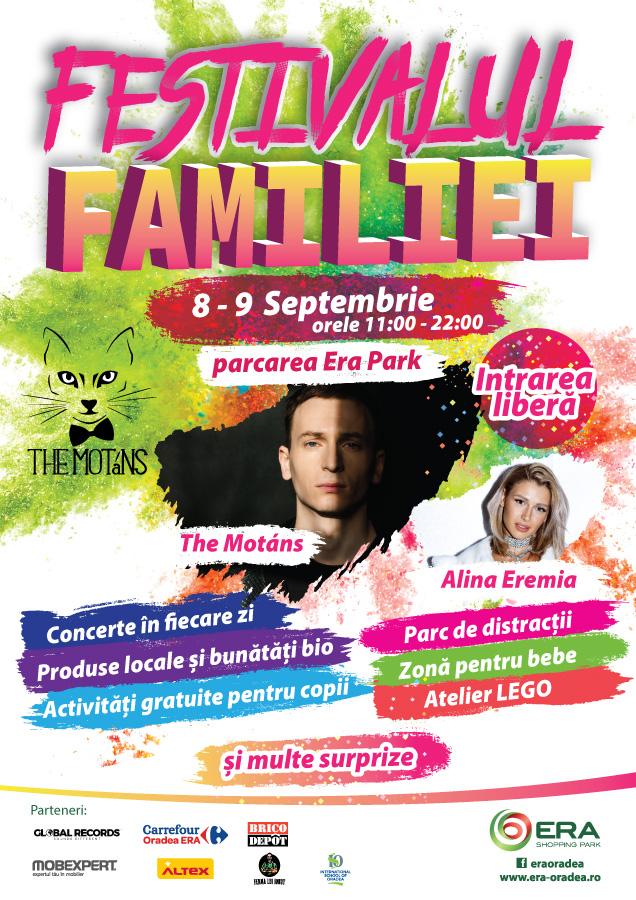 Festivalul Familiei editia a II-a, 8 – 9 Septembrie 2018