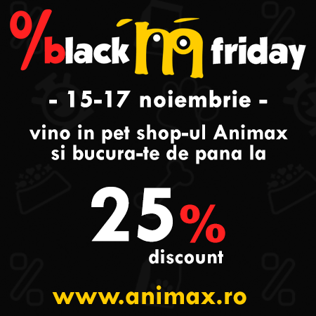 Black Friday Animax 15 – 17 Noiembrie