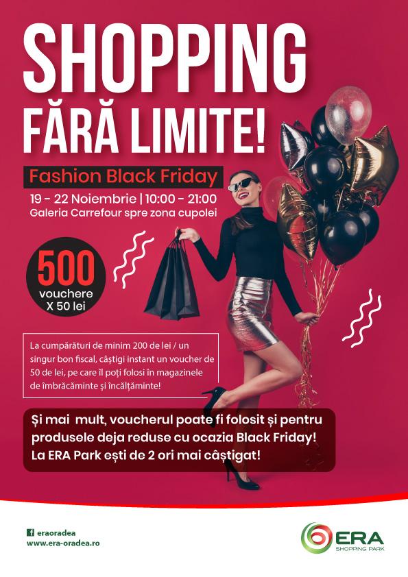 Shopping fara limite!Fashion Black Friday!