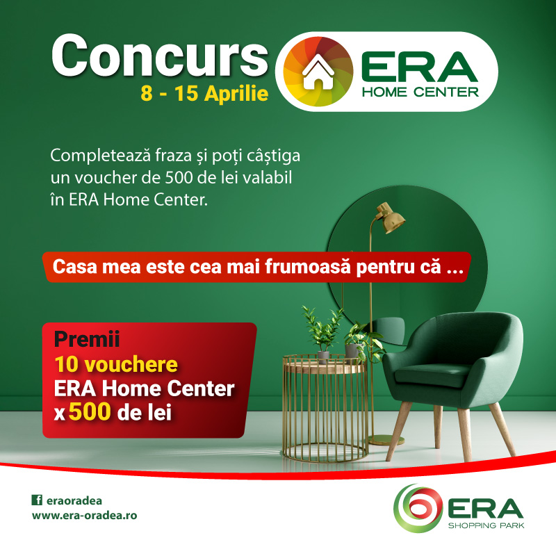 Concurs ERA Home Center